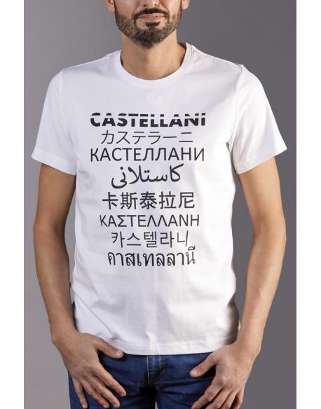 TEE SHIRT CASTELLANI LANGUAGES