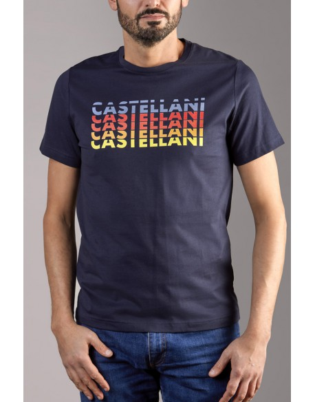 TEE SHIRT CASTELLANI REPEAT LOGO